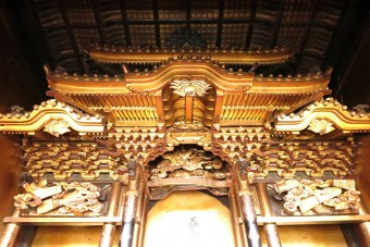 金仏壇の修復